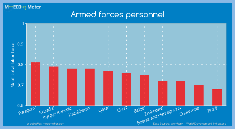 Armed forces personnel of Chad