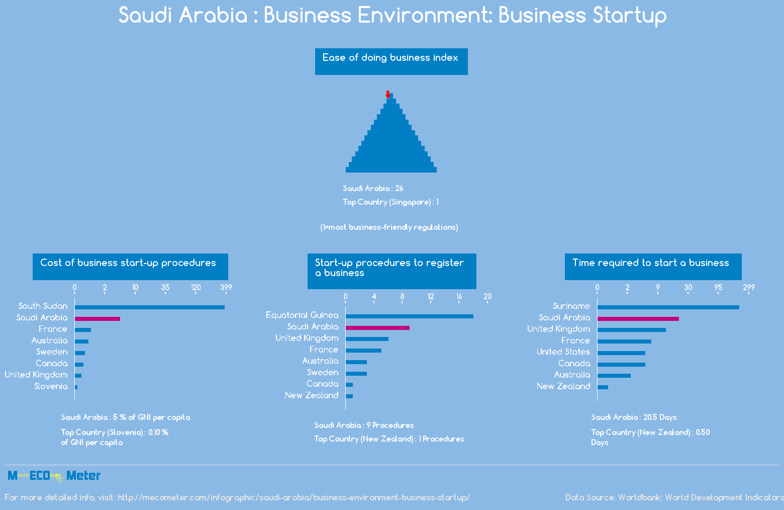 Saudi Arabia : Business Environment: Business Startup