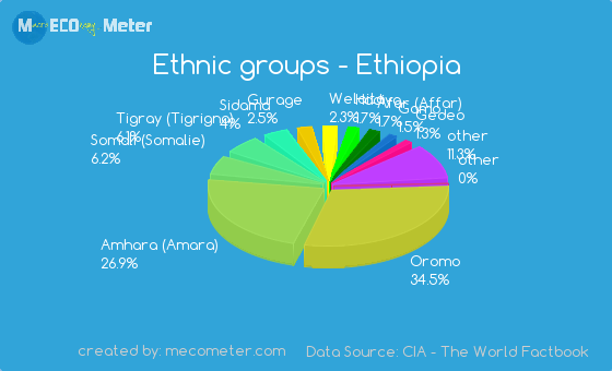 Population in Ethiopia: size and ethnic composition 83