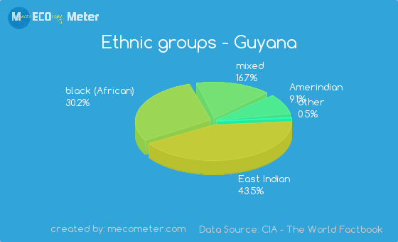 Ethnic groups of Guyana