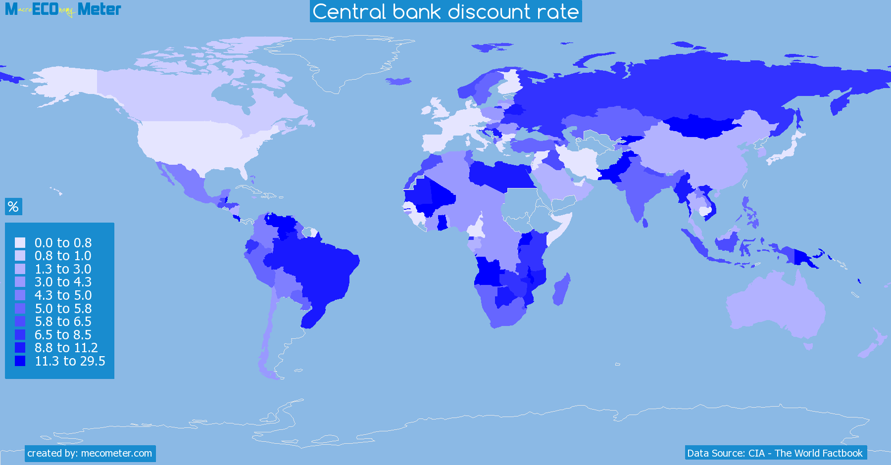 Central bank discount rate